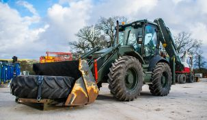 JCB 4CX Sitemaster backhoe loader Year: 2010 S/N: 2004062 Recorded Hours: 2988 c/w spare wheel &