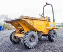 Thwaites 3 tonne straight skip dumper Year: 2007 S/N: 702B11733 Recorded Hours: 241 (On