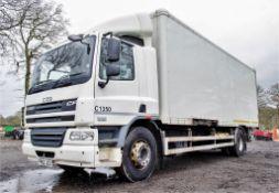 DAF 75.360 18 tonne box lorry Registration Number: FP62 JCO Date of Registration: 05/02/2013 MOT