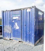 10 ft x 8 ft generator store c/w bunded fuel tank & distribution board