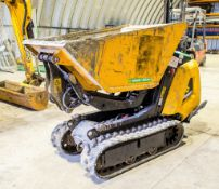 JCB HDT5 walk behind hi tip rubber tracked dumper Year: 2016 S/N: 1593469 A726259 ** Sold as a non