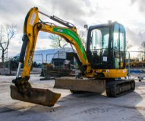 JCB 8030 ZTS 3 tonne rubber tracked excavator Year: 2015 S/N: 432332 Recorded Hours: blade,