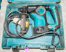 Makita HR2811F 110v SDS rotary hammer drill c/w carry case A1127264