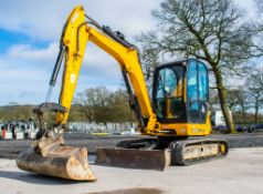 JCB 8055 5.5 tonne rubber tracked midi excavator Year: 2015 S/N: 2426191 Recorded Hours: 2013