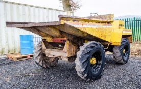 Winget 4B3000 3 tonne straight skip dumper S/N: 800359 ** No VAT on hammer price but VAT will be