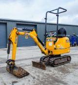 JCB 8008 CTS 0.8 tonne rubber tracked micro excavator Year: 2015 S/N: 2410729 Recorded Hours: 1176