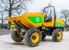 JCB 6 tonne swivel skip dumper Year: 2015 S/N: FRL8737 Recorded Hours: 1236 A680955