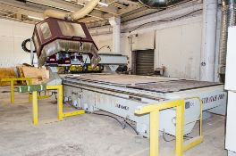 Anderson Stratos Pro XL CNC router Year: 2007 S/N: 96056 ** Viewing by appointment only on 10th