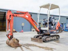 Kubota KX36-3 1.5 tonne rubber tracked mini excavator Year: 2007 S/N: 76574 Recorded Hours: 3909