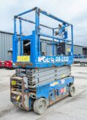 Genie GS1932 battery electric scissor lift access platform Year: 2014 S/N: 15702 Recorded Hours: 185