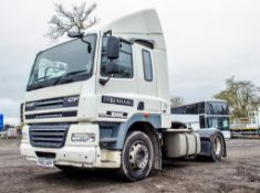 DAF CF 85.410 Euro 5 4 x 2 tractor unit  Registration Number: FN62 AKP   Chassis Number: