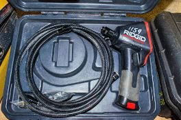 Ridgid Micro CA-100 inspection camera c/w carry case