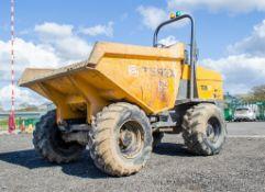Terex 9 tonne straight skip dumper Year: 2014 S/N: EE1PK4941 Recorded Hours: 2292 D1706