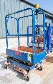 Pop Up battery electric push around access platform Year: 2006 S/N: NSG1092 08FT0078