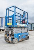 Genie GS1932 battery electric scissor lift access platform Year: 2014 S/N: 15735 Recorded Hours: 162
