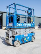 Genie GS1932 battery electric scissor lift access platform Year: 2007 S/N: 84889 Recorded Hours: 366