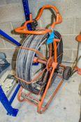 Solo Pro drain camera reel