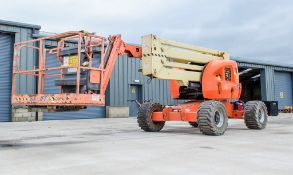 JLG 450AJ Series 2 diesel driven articulated boom access platform Year: 2014 S/N: E300001956