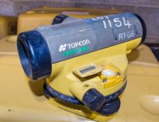 Topcon RT-G6 dumpy site level