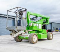Nifty HR12 diesel/battery electric articulated boom lift access platform Year: 2014 S/N: 1227916