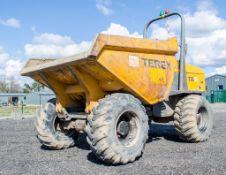 Benford Terex 9 tonne straight skip dumper Year: 2011 S/N: EB6MV2545 D1452 ** Engine smoking **
