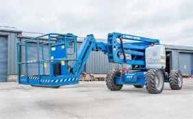 Genie Z-45/25 diesel driven articulated boom lift access platform Year: 2012 S/N: Z452512B-2012