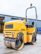 Terex TV800 double drum ride on roller Year: 2011 S/N: EBANS1633 Recorded Hours: 1051 RTD036