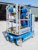 Genie GR-12 Runabout battery electric access platform Year: 2013 S/N: GR13-27512 Recorded Hours: 193