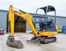 JCB 8014 CTS 1.5 tonne rubber tracked mini excavator Year of Manufacture: 2014 Model Year: 2015 S/N: