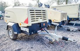 Doosan 7/31E+ diesel driven fast tow mobile air compressor Year: 2016 S/N: Y323741 Recorded Hours:
