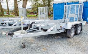 Indespension AD2000 8 ft x 4 ft tandem axle plant trailer S/N: 138983 ** New & unused **