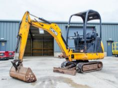 JCB 8014 CTS 1.5 tonne rubber tracked mini excavator Year: 2014 S/N: 82070515 Recorded Hours: 2114