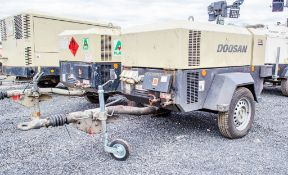 Doosan 741E diesel driven mobile air compressor/generator Year: 2015 S/N: 433552 Recorded Hours: 889