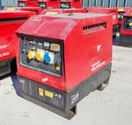 Mosa GE6000 SX/GS diesel driven generator Year: 2013 S/N: 027923 Recorded Hours: 2284 1311-0785