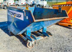 Conquip Autolock fork lift tipping skip A955537