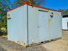 10' x 9' steel shower block unit AP