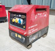 Mosa GE6000 SX/GS diesel driven generator Year: 2014 S/N: 036553 Recorded Hours: 2779