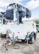 SMC TL-90 diesel driven fast tow mobile lighting tower Year: 2016 S/N: T901612448 Recorded Hours: