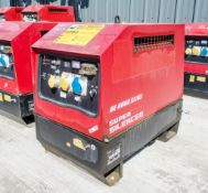 Mosa GE6000 SX/GS diesel driven generator Year: 2013 S/N: 046008 Recorded Hours: 2324 MOSA-0014