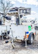 SMC TL-90 diesel driven fast tow mobile lighting tower Year: 2015 S/N: T901511885 Recorded Hours: