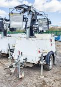 SMC TL-90 diesel driven fast tow mobile lighting tower Year: 2016 S/N: T901612627 Recorded Hours: