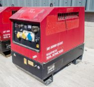 Mosa GE6000 SX/GS diesel driven generator Year: 2014 S/N: 036562 Recorded Hours: 515 1410-4113