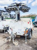 SMC TL-90 diesel driven fast tow mobile lighting tower Year: 2015 S/N: T901411075 Recorded Hours: