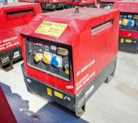 Mosa GE6000 SX/GS diesel driven generator Year: 2015 S/N: 046202 Recorded Hours: 430