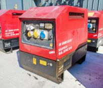 Mosa GE6000 SX/GS diesel driven generator Year: 2015 S/N: 045226 Recorded Hours: 987