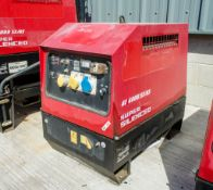 Mosa GE6000 SX/GS diesel driven generator Year: 2015 S/N: 045509 Recorded Hours: 1080