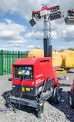 Mosa GE6000 SX/GS diesel driven lighting tower/generator Year: 2015 S/N: 44584 Recorded Hours: 591