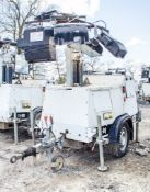 SMC TL-90 diesel driven fast tow mobile lighting tower Year: 2014 S/N: T901411068 Recorded Hours: