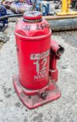 12 tonne hydraulic bottle jack
