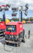 Mosa GE6000 SX/GS diesel driven lighting tower/generator Year: 2013 S/N: 27926 Recorded Hours: